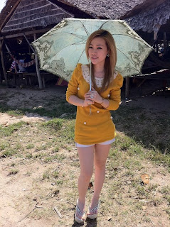 Mikie Jung Khmer Chinese beautiful girl 6