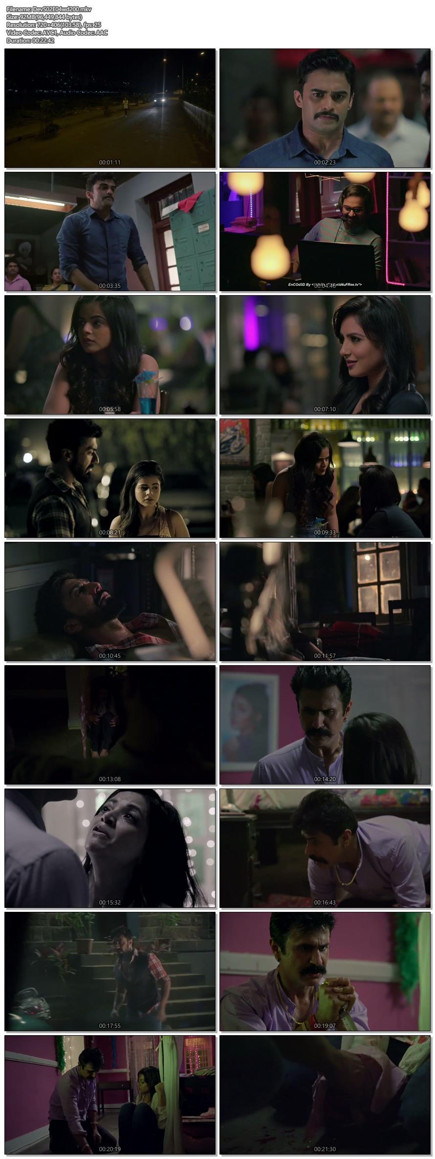 Screenshots Of Hindi Show Dev 2018 Episode 04 300MB 480P HD