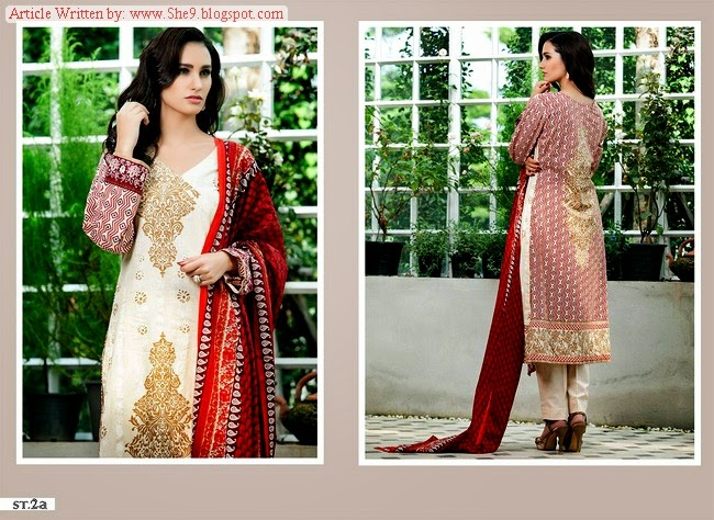 Riwaj Cambric Winter Collection 2014-2015 by Shariq