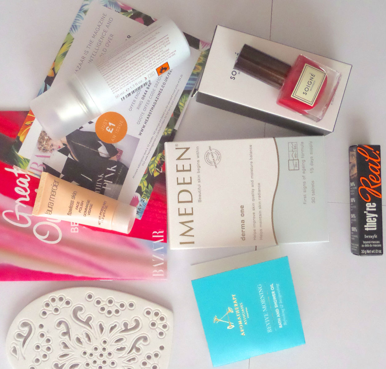 Birchbox May 2014 with Harper's Bazaar