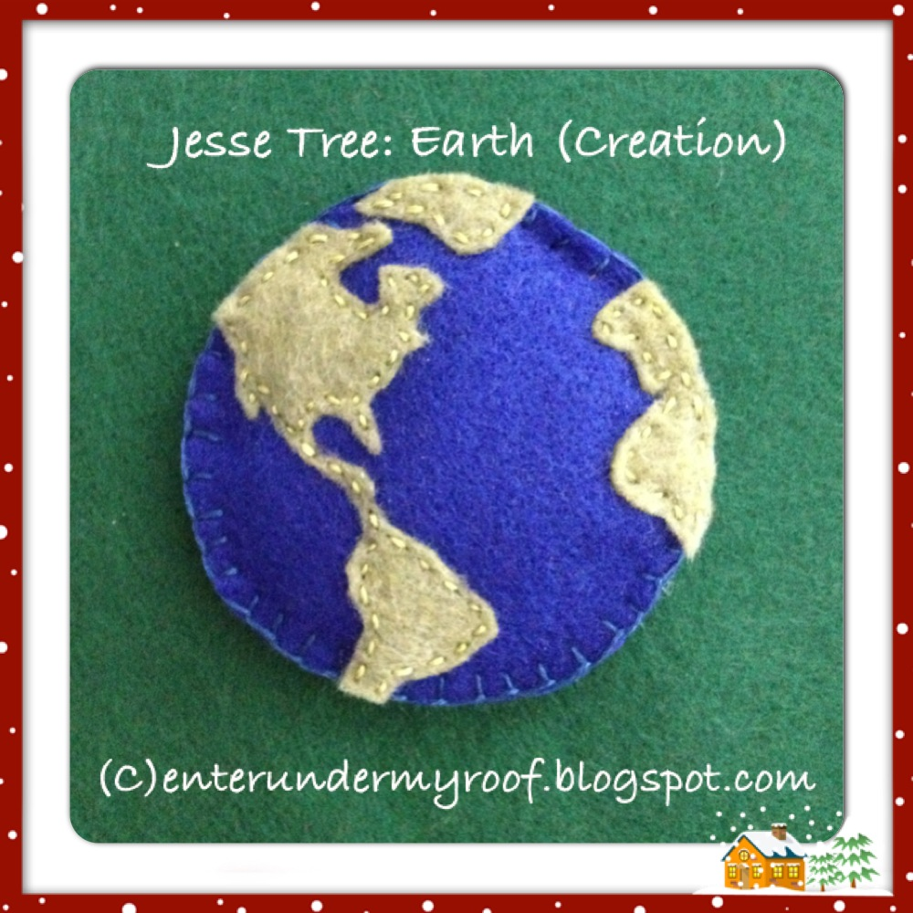 Activity Jesse Tree Earth Creation Faith And Fabric