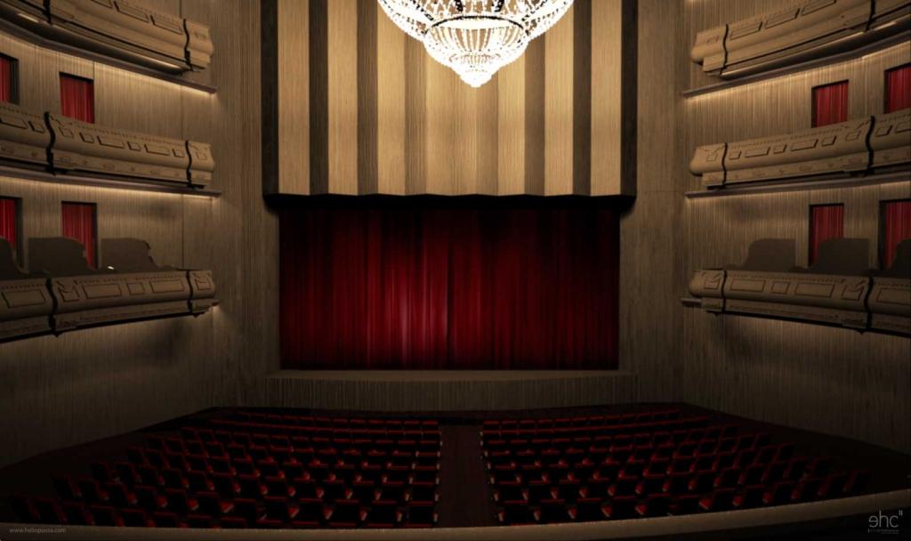 Cultura de sevilla el nuevo gran teatro cervantes for Sala 0 teatro sevilla