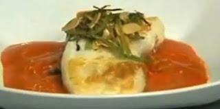 Receta Pescado con salsa de citricos