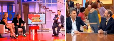 Jaime Cantizano y Agustín Bravo, en 'Aquí no hay quien viva'