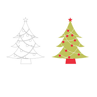 Free ClipArt Digi Stamps SVG | Christmas Tree