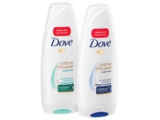 żele pod prysznic Dove Creme Mousse