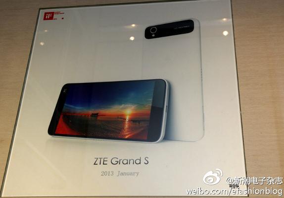 ZTE Grand S | Especificaciones técnicas y fotos