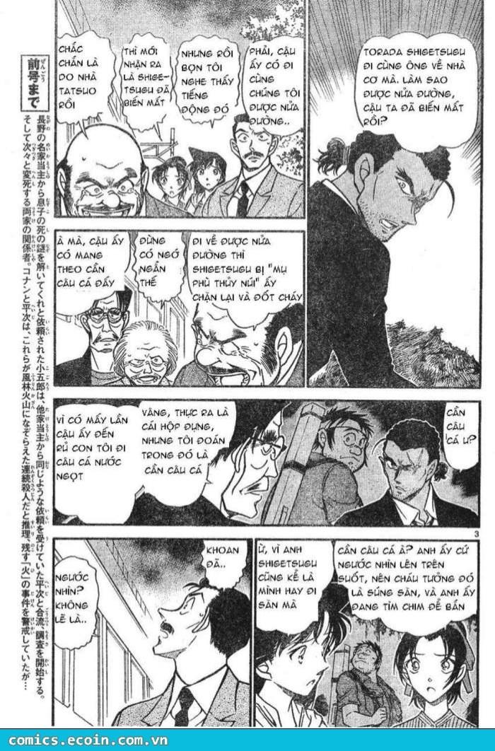 Detective Conan - Thám Tử Lừng Danh Conan chap 617 page 3 - IZTruyenTranh.com