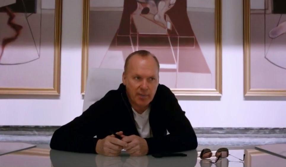 Michael Keaton as Raymond sellars RoboCop 2014