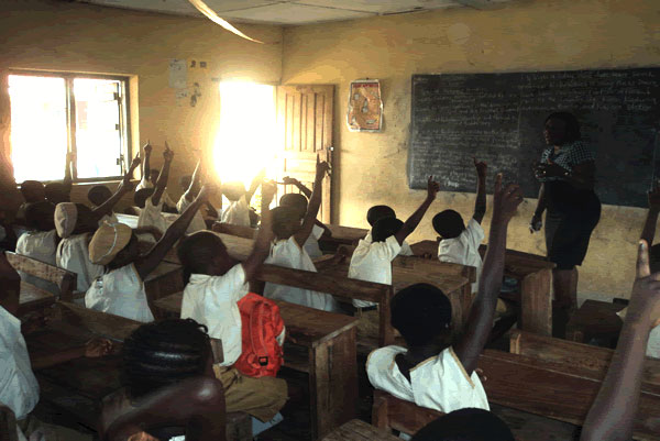 Photo Of A Typical Nigerian Classroom In The 1950s