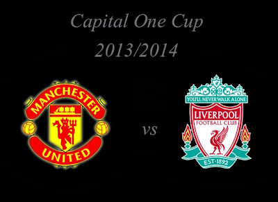Manchester United vs Liverpool Capital One Cup2013
