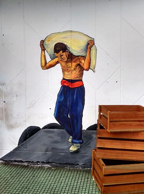Street Art Paintings in Sibu
