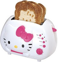 Hello Kitty Bread Toaster