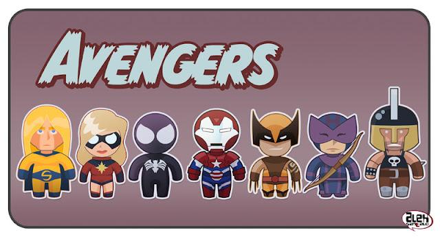 Dark Avengers por alexsantalo