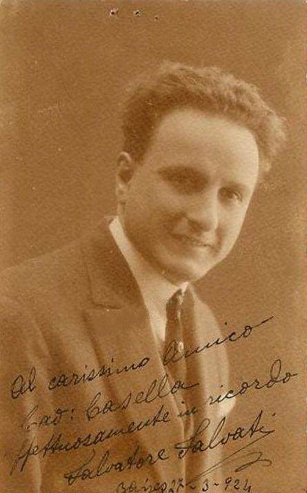 ITALIAN TENOR SALVATORE SALVATI (1885 - 1959) CD