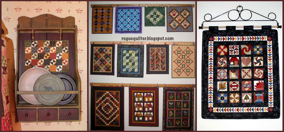Piecing the Past Quilts: Where and How Can I Display My Little ... : little quilts - Adamdwight.com