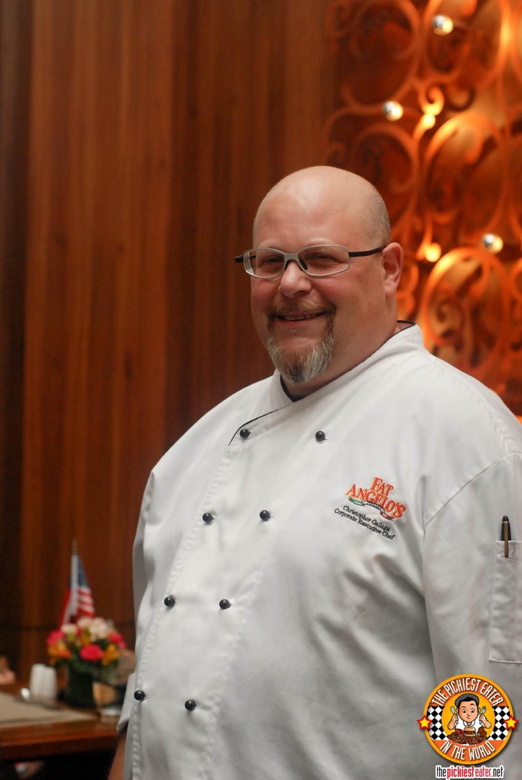 Fat Italian Chef At fat angelo's italian