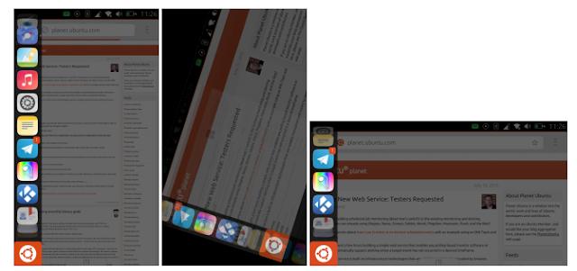 Rotacao de tela do Ubuntu Phone