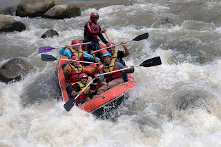 Serayu River Rafting Banjarnegara - Central Java