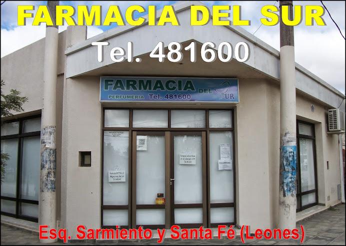 ESPACIO PUBLICITARIO: FARMACIA DEL SUR