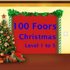 100 Floors Christmas Tower Level 1 2 3 4 5 Walkthrough