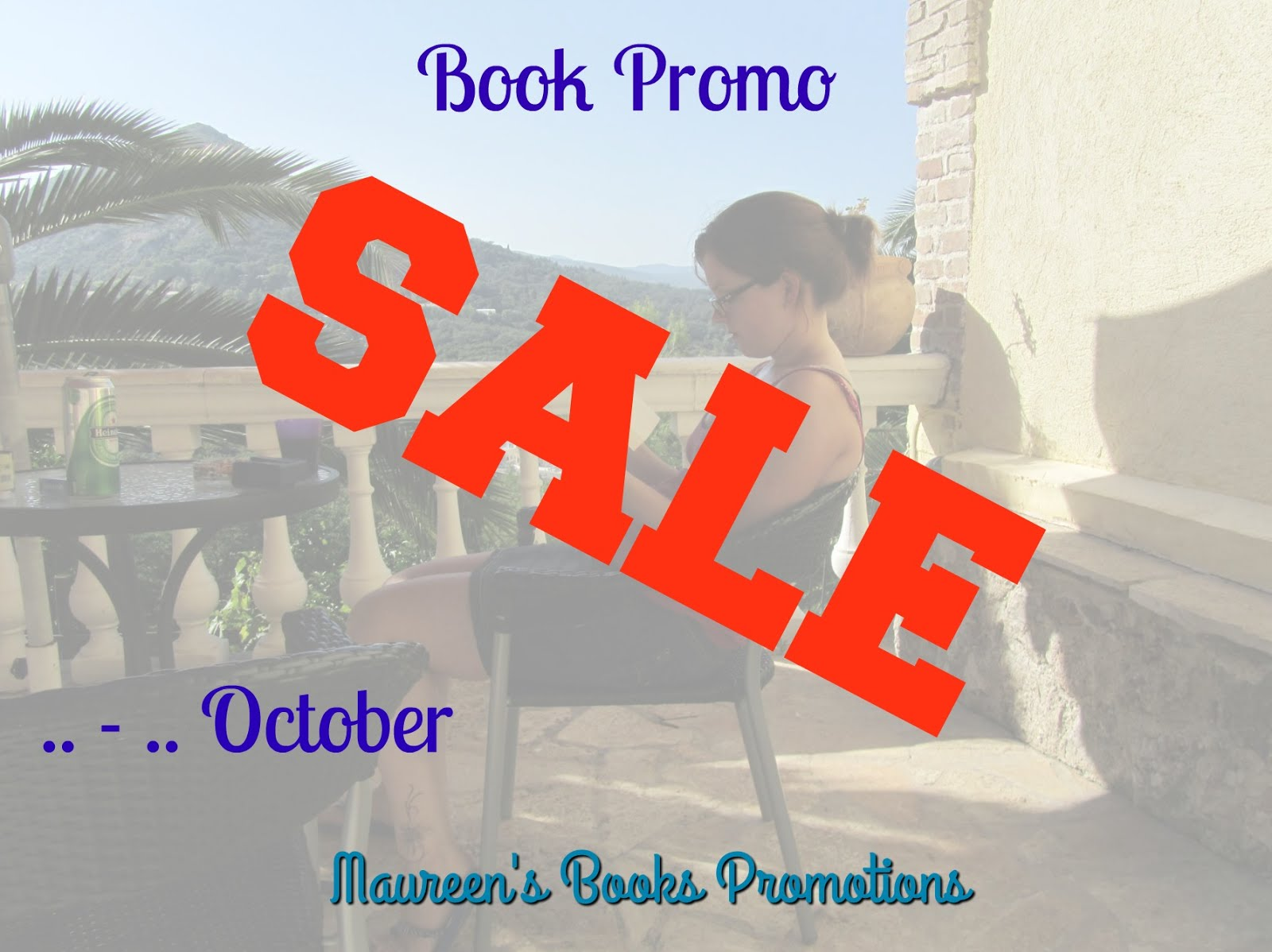 SALE: A Book Promo for half the price!! (Open till October 22nd)