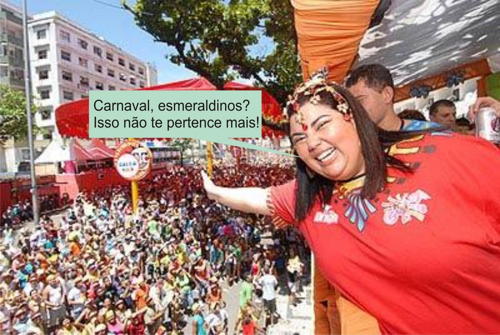 Carnaval? Não para os jogadores do America!