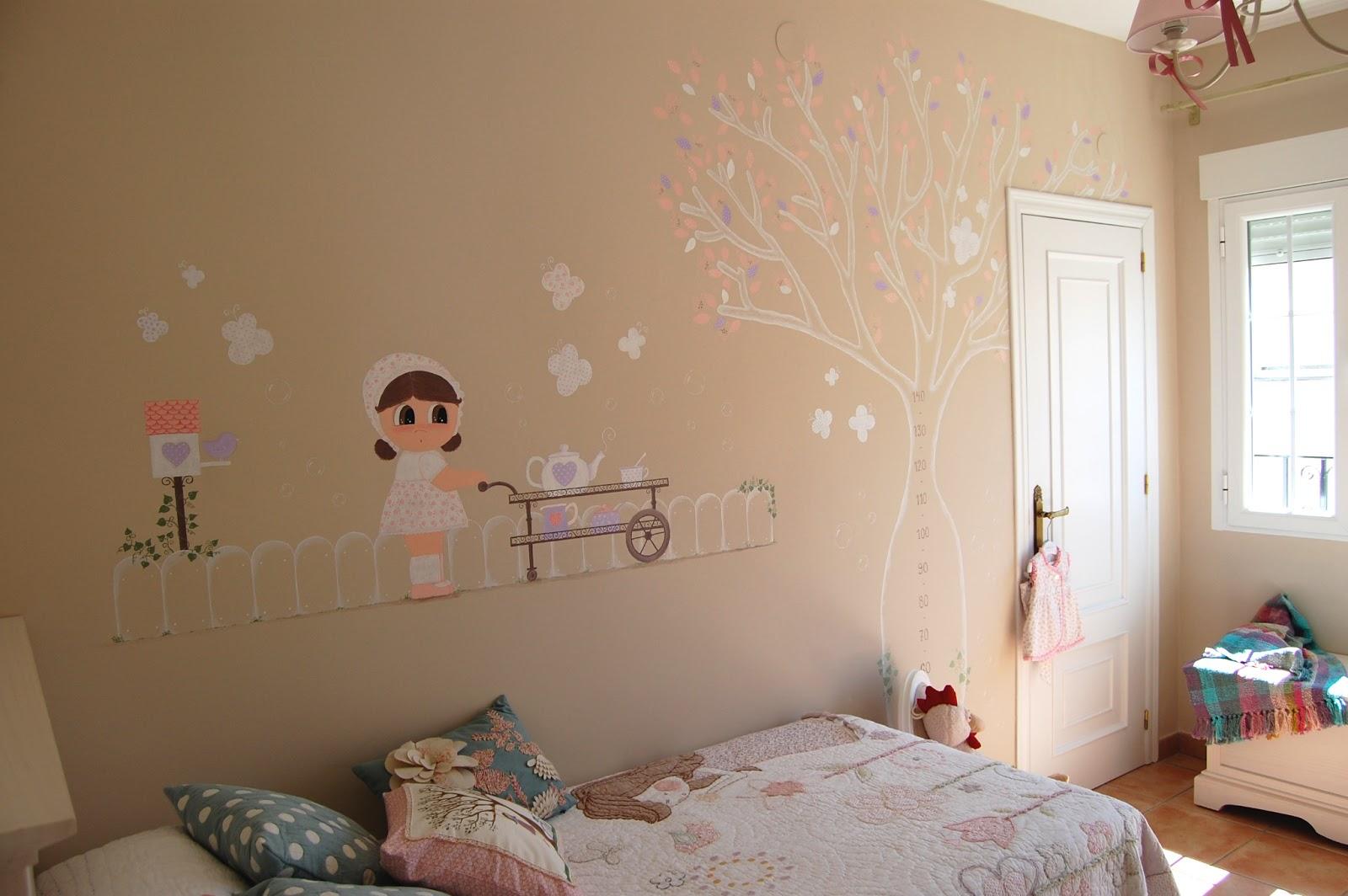 Coconic decoraci n infantil personalizada murales - Decorar paredes de gotele ...