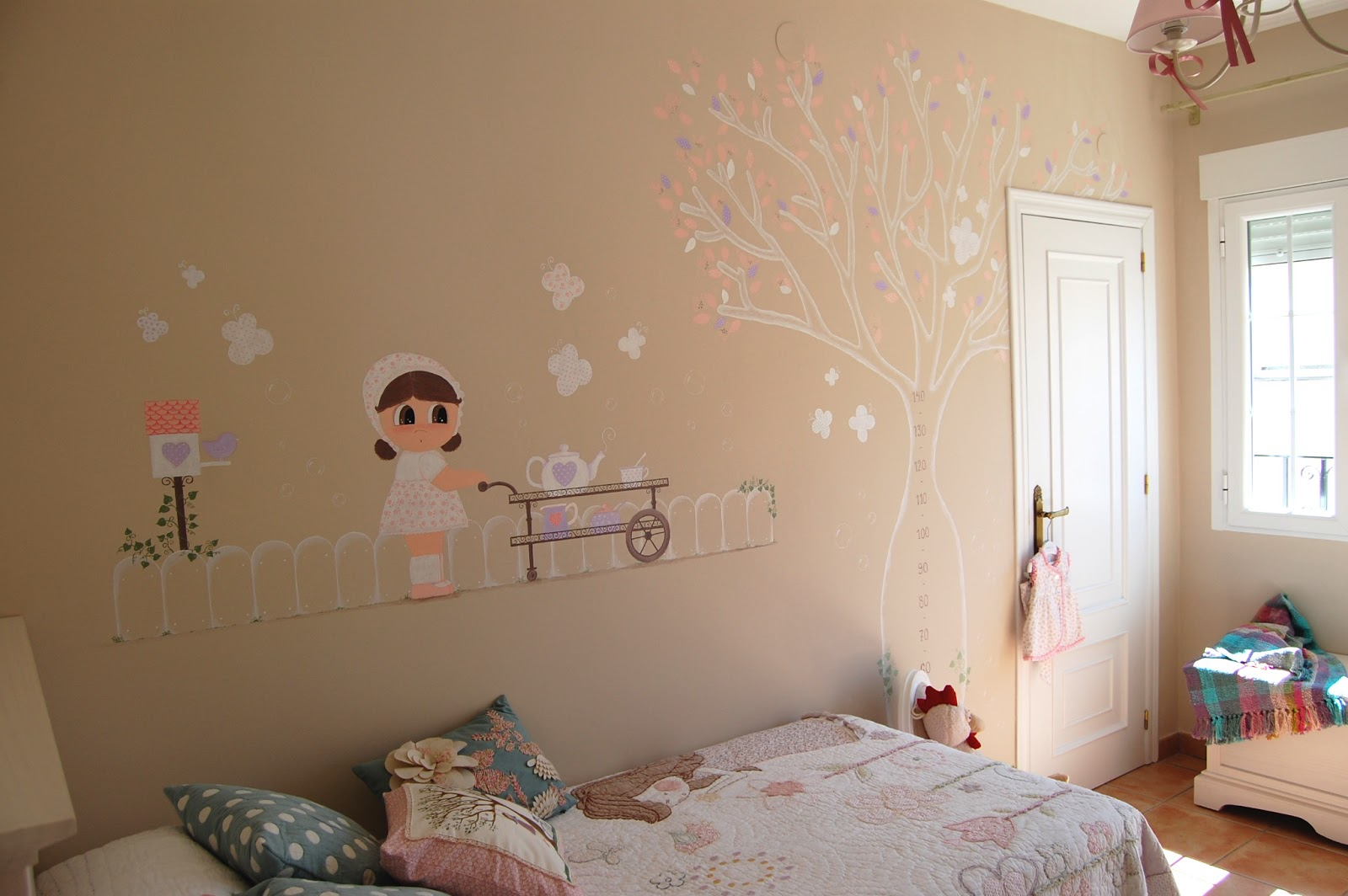 Coconic decoraci n infantil personalizada murales for Como pintar un mural en una pared