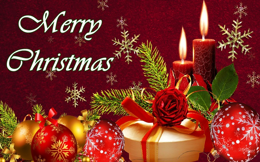 Beautiful Merry Christmas Wishes Images for Greetings - Merry ...