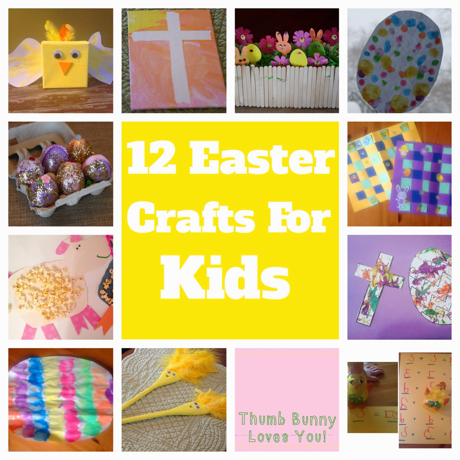 Easter Crafts for Kids || The Chirping Moms