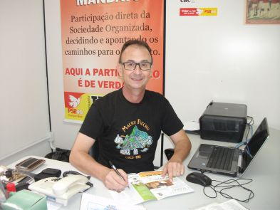 VEREADOR JAIR WINGERT DEFENDE MUNICIPALIZAÇÃO DA ÁGUA