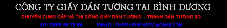 Giay dan tuong gia re tai Binh Duong