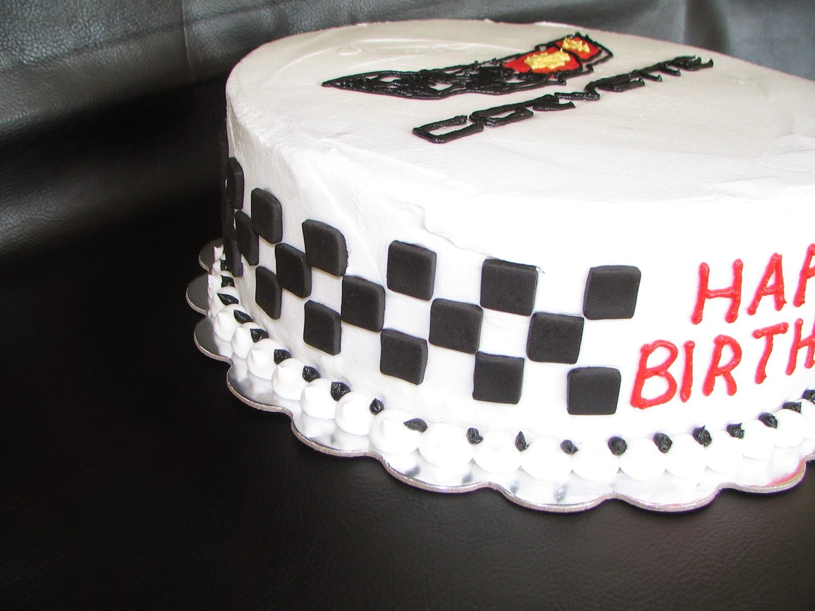 Piped Dreams Corvette Cake