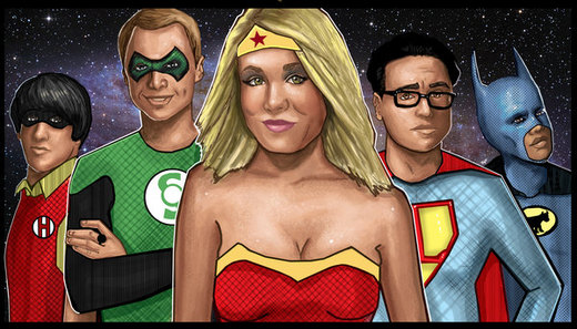 Big Bang Theory por HeroforPain