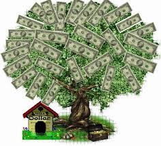 Make your own money tree