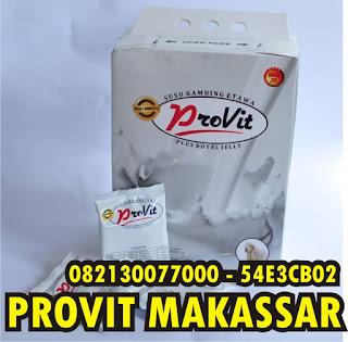 Susu Provit Makassar - Jual susu provit untuk Makassar dan sekitarnya dengan harga promo selamanya. Harga termurah layanan ramah hanya di www.provit.co.id  Kami adalah agen resmi sns21 yang menjual susu kambing etawa plus royal jelly. Dipercaya oleh konsumen dan pelanggan kami selama bertahun - tahun mensuplai kebutuhan susu provit guna memenuhi kebutuhan pelanggan kami.