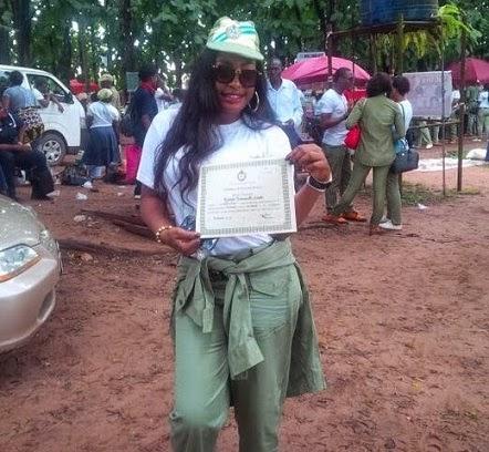 Nuella Njubigbo completes nysc