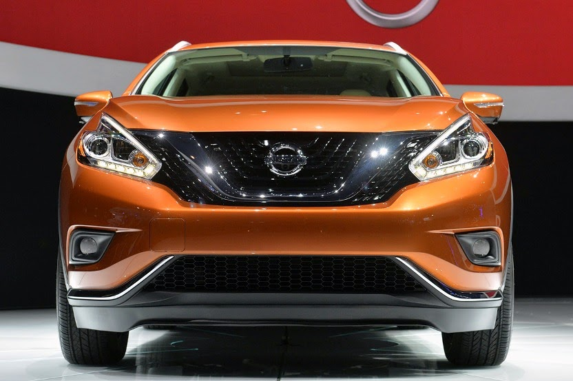 2015 Nissan Murano First Live Photos