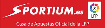 logo sportium casa de apuestas oficial de la LFP