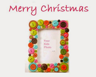 handmade photoframe christmas gift ideas for children kids