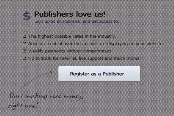 Registrasi Publiser di Yllix media