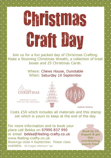 Get Ready for Christmas Craft Day