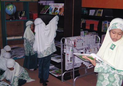 Perpustakaan SDIT Ibnu Abbas Kebumen