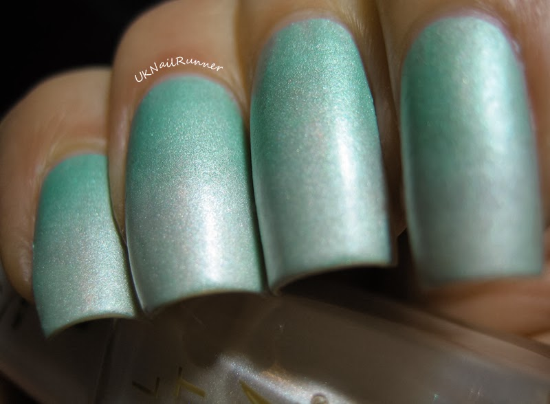 Barry M Silk Nail Paint in Meadow and Pearl