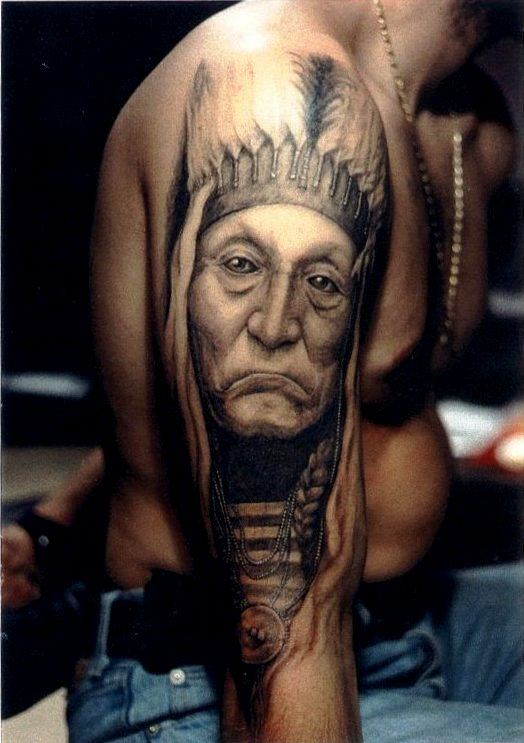 trend tattoos native american indian tattoos. Black Bedroom Furniture Sets. Home Design Ideas