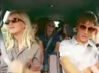 funny commercial car one man with four girls