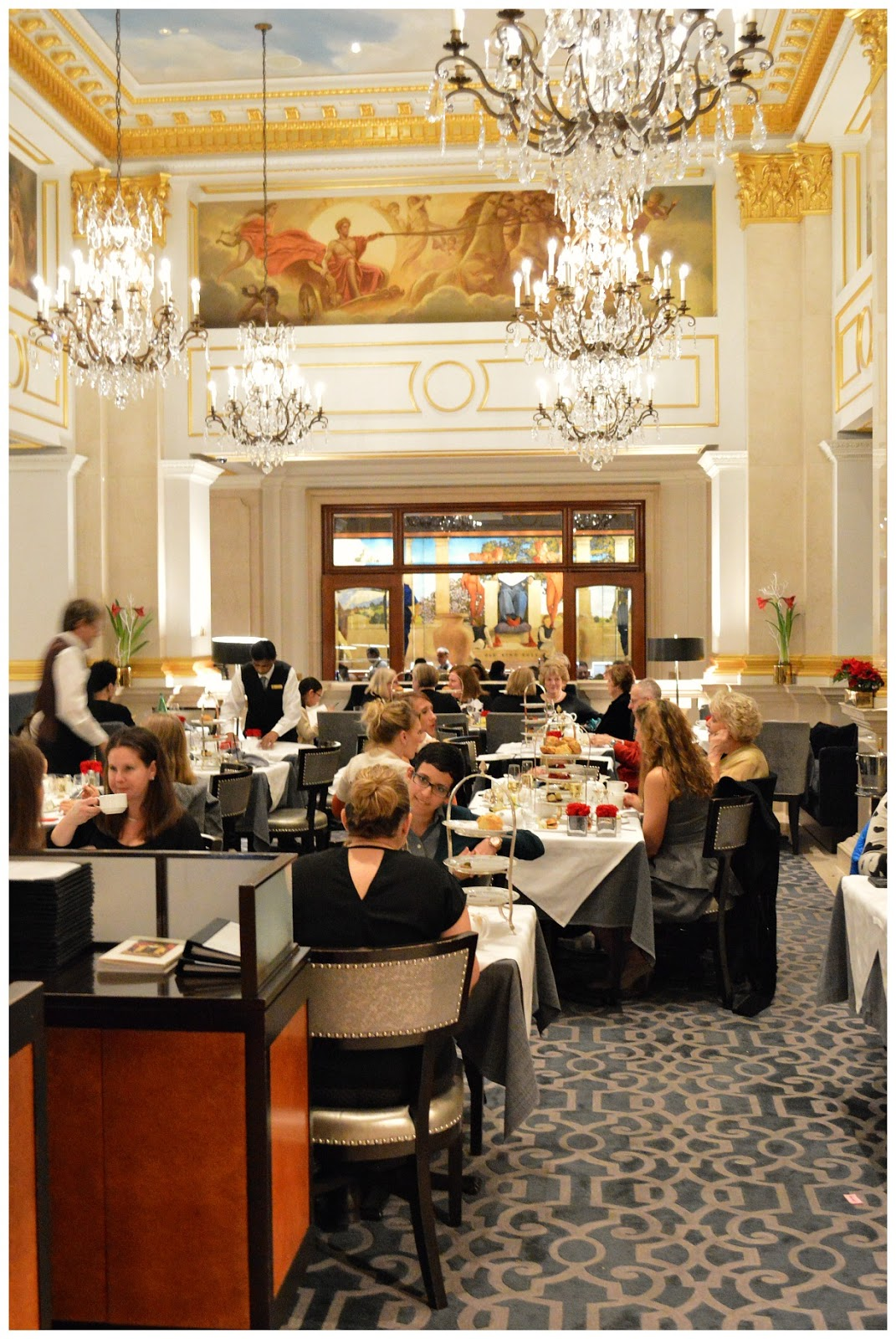 St Regis Tea Room New York
