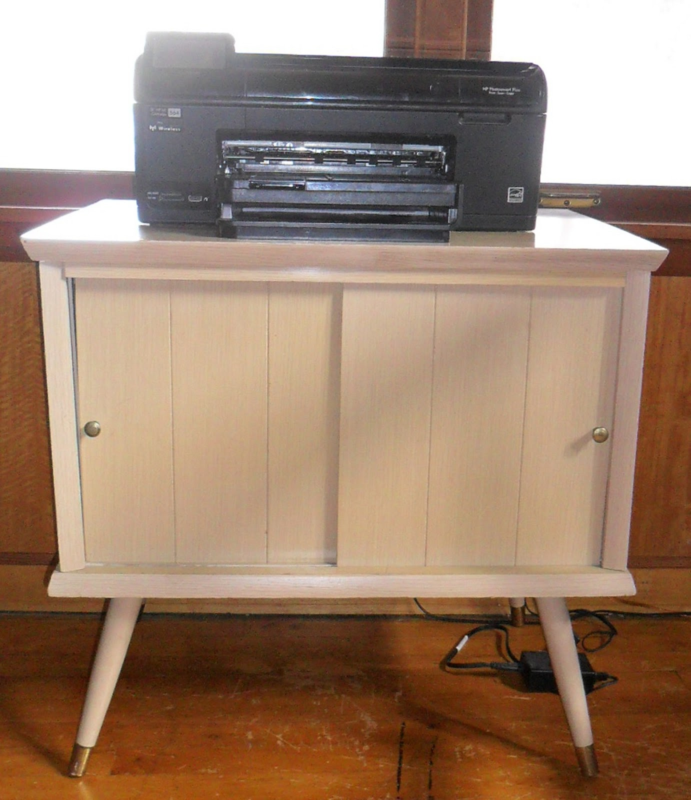 TREASURES IN THRIFTING LAND: Vintage Record Cabinet