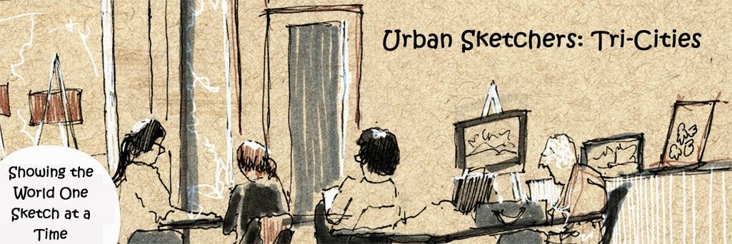 Urban Sketchers: Tri-Cities, Washington